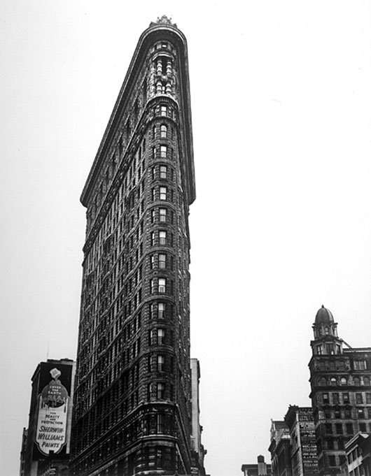 Berenice Abbott, il Flatiron-Building (1938)