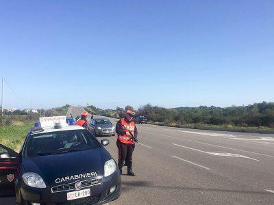 I controlli dei Carabinieri di Siniscola