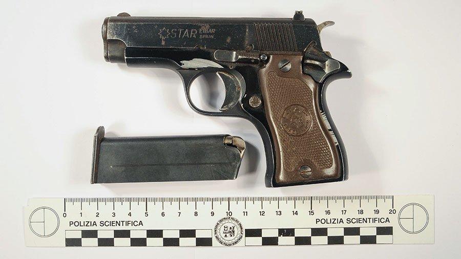 L'arma utilizzata nella sparatoria a Oniferi