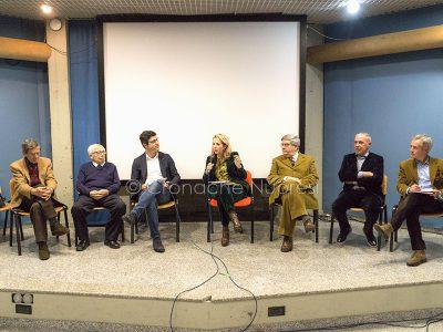 Sindaci storici di Nuoro all'incontro sul futuro del Monte Ortobene (foto S.Novellu)