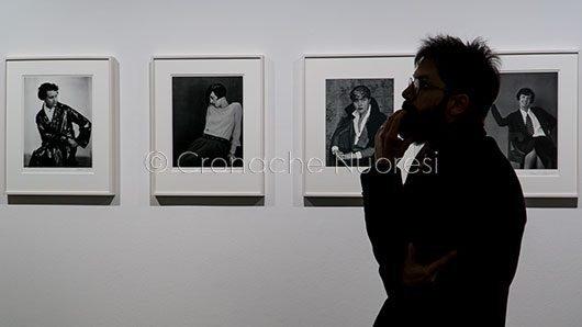 Nuoro. L'inaugurazione della mostra Topografie di Berenice Abbott al MAN (© foto S.Novellu)