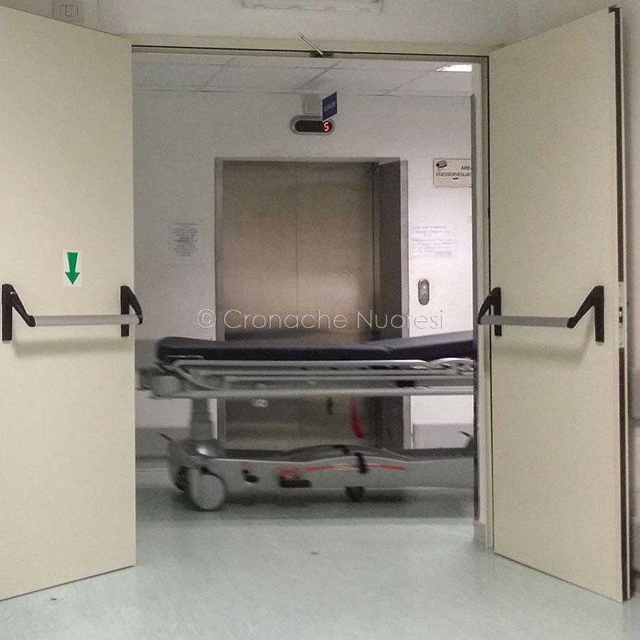 Nuoro, il pronto soccorso dell'Ospedale S.Francesco (foto S.Novellu)