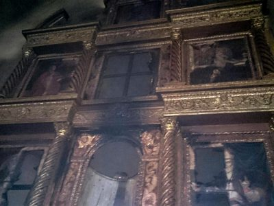 Sindia, i resti dell'altare della chiesa di San Demetrio