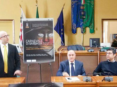 La conferenza di presentazione del Carnevale in Barbagia 2017 (foto Cronache Nuoresi