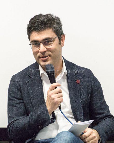 Il sindaco Andrea Soddu all'incontro sul futuro del Monte Ortobene (foto S.Novellu)