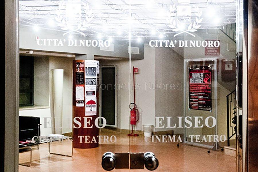 L'ingresso al Teatro Eliseo (foto S.Novellu)