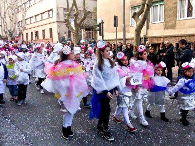 Un momento del Carnevale Nuorese