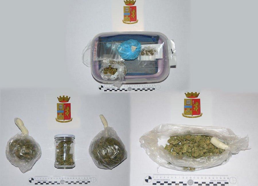 La droga sequestrata a Tortolì
