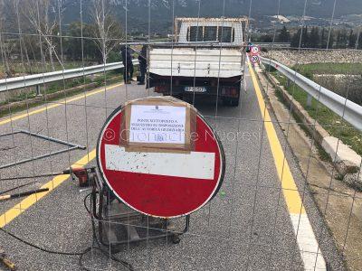 Il ponte di Oloè sequestrato dall'Autorità giudiziaria