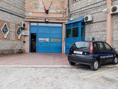 Nuoro. L'ingresso al carcere di Badu 'e carros (foto S.Novellu)