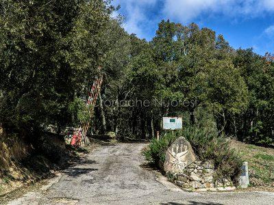 Farcana,Nuoro, la base della Forestale (foto S.Novellu)