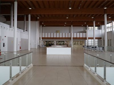 Nuoro, la nuova hall dell'ospedale San Francesco (foto S.Novellu)