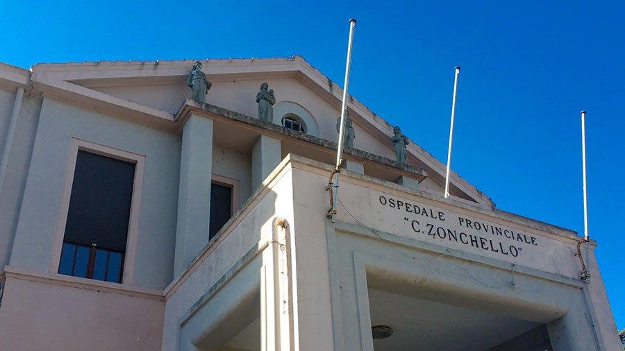 Nuoro, l'ospedale Zonchello (foto S.Novellu)