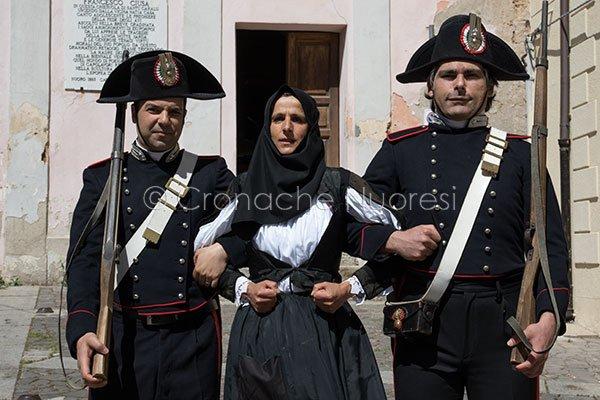 Paska Zau dopo l'arresto