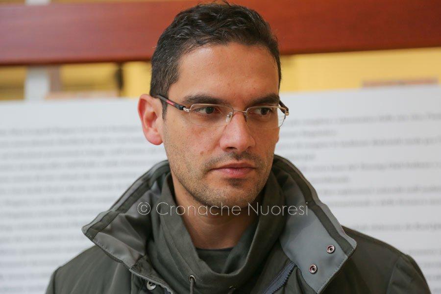 Il consigliere Pierluigi Saiu (© foto S.Novellu/Cronache Nuoresi)