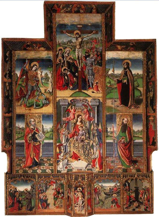 Nuova vita per l'antico retablo di Tuili, opera del Maestro di Castelsardo