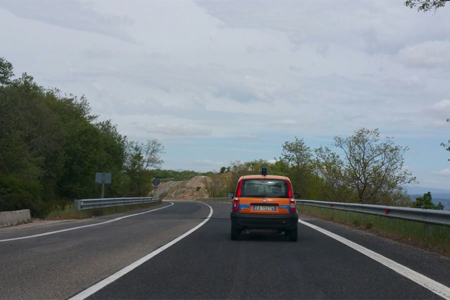 Fonni. Limitazioni stradali sulla 389 per lavori all'altezza di Passo Caravai
