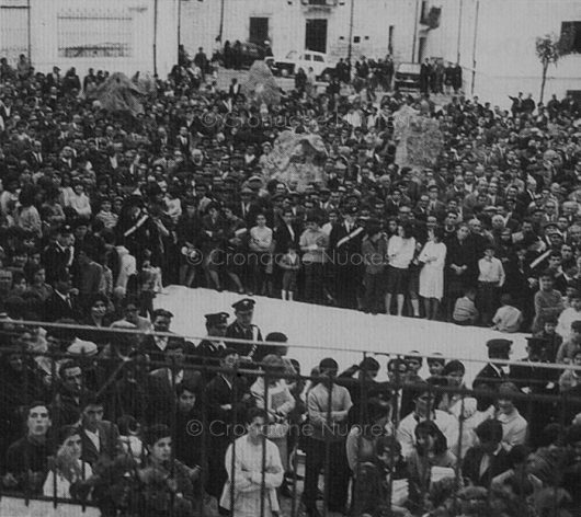 L'inaugurazione di piazza Satta