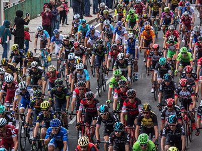Nuoro, il passaggio del 100° Giro d'Italia