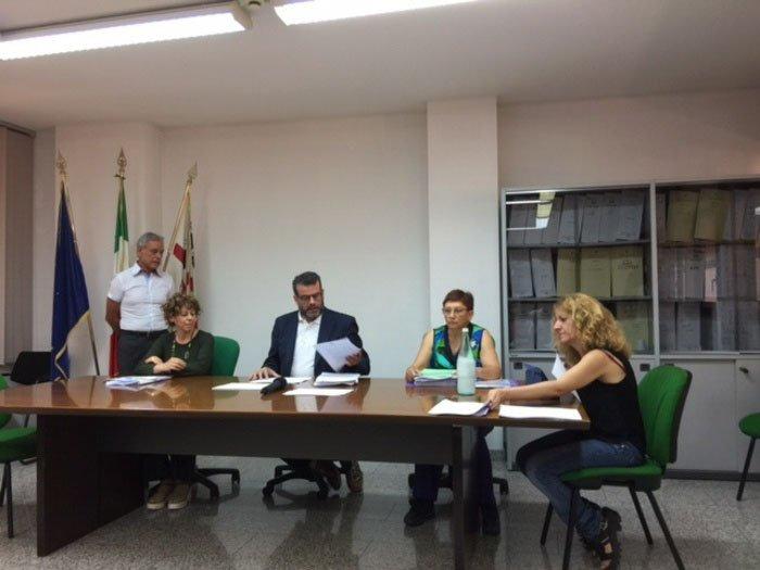 La riunione sull'aggiornamento del protocollo