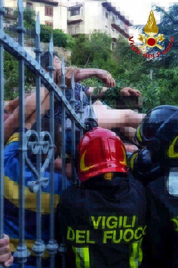 Burgos, la scena dell'incidente