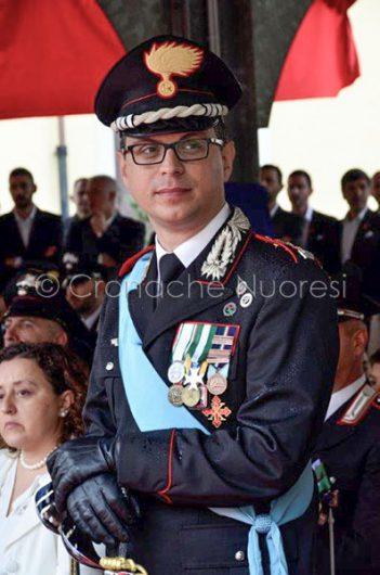 Il colonnello dei Carabinieri Saverio Ceglie