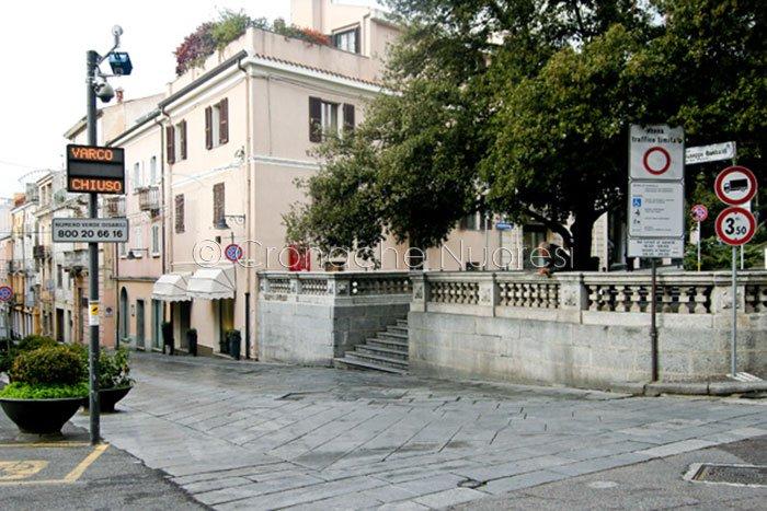Nuoro, uno scorcio del Corso Garibaldi (foto S.Novellu)
