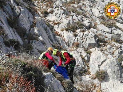 Tavolara, il recupero della salma del disperso da parte del Soccorso Alpino