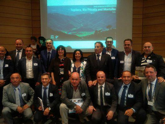 La delegazione sarda nella sede dell'Unesco