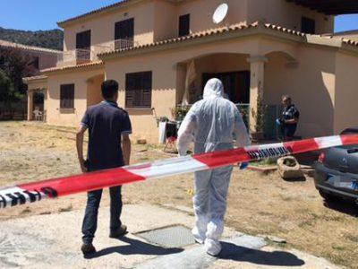 San Teodoro, la Scientifica a lavoro nella villetta dove è stata uccisa Erica Preti