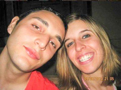 Domenico Fricano con Erika Preti