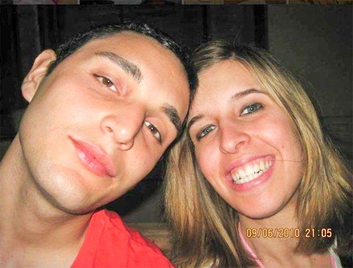 Dimitri Fricano con Erika Preti
