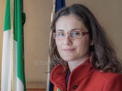 Il sindaco di Dorgali Maria Itria Fancello (foto S.Novellu)