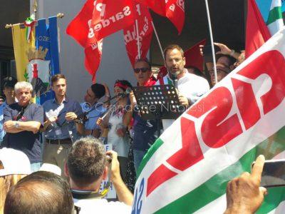 Cagliari, manifestazione contro la riforma della Sanità (foto Cronache Nuoresi)