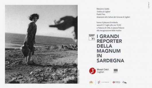 """Invito alla mostra """"I grandi reporter della Magnum in Sardegna"""""""