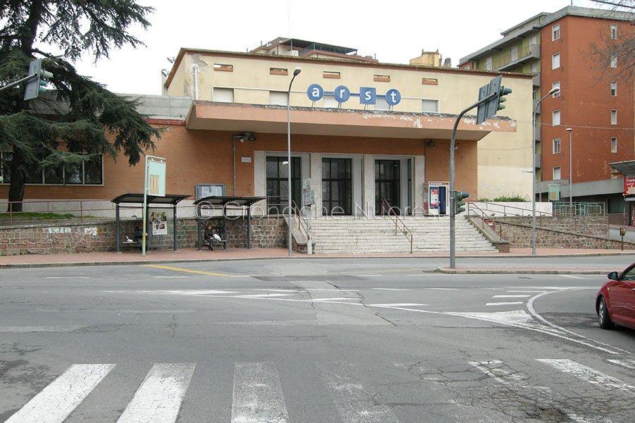 La Stazione Arst di Nuoro (foto Cronache Nuoresi)