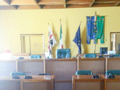L'aula consiliare del Comune di Nuoro