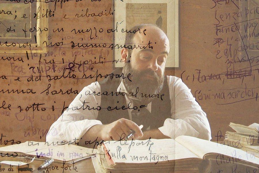 Un frame tratto dal documentario dedicato a Bustiiano Satta