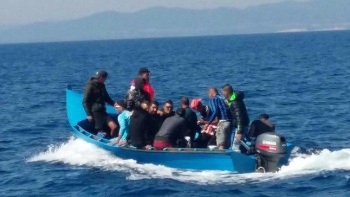 Migranti soccorsi a Capo Teulada (foto repertorio)