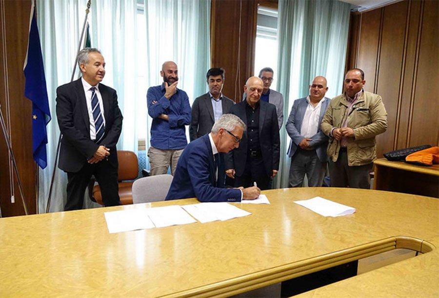 L'accordo di programma siglato ieri in Provincia