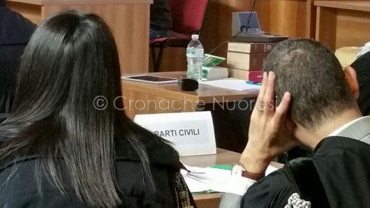 Processo per il delitto Monni-Masala (foto Cronache Nuoresi)