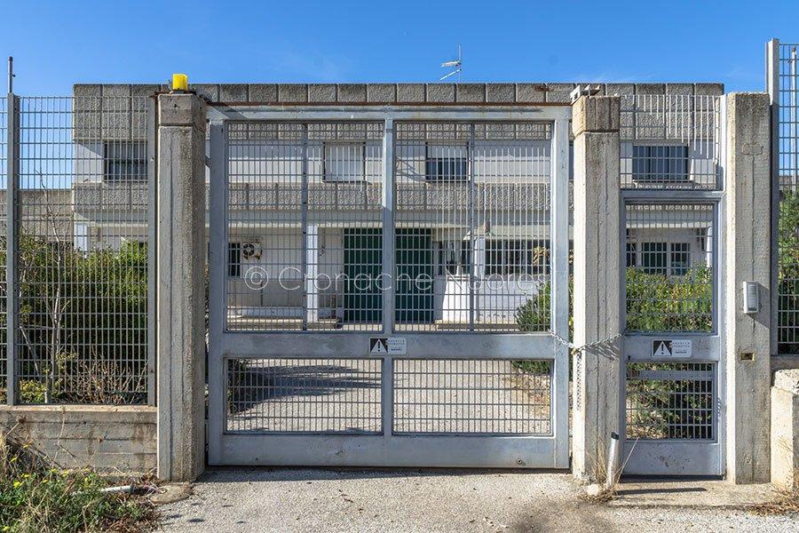 L'ingresso al Carcere di Macomer (foto S.Novellu)