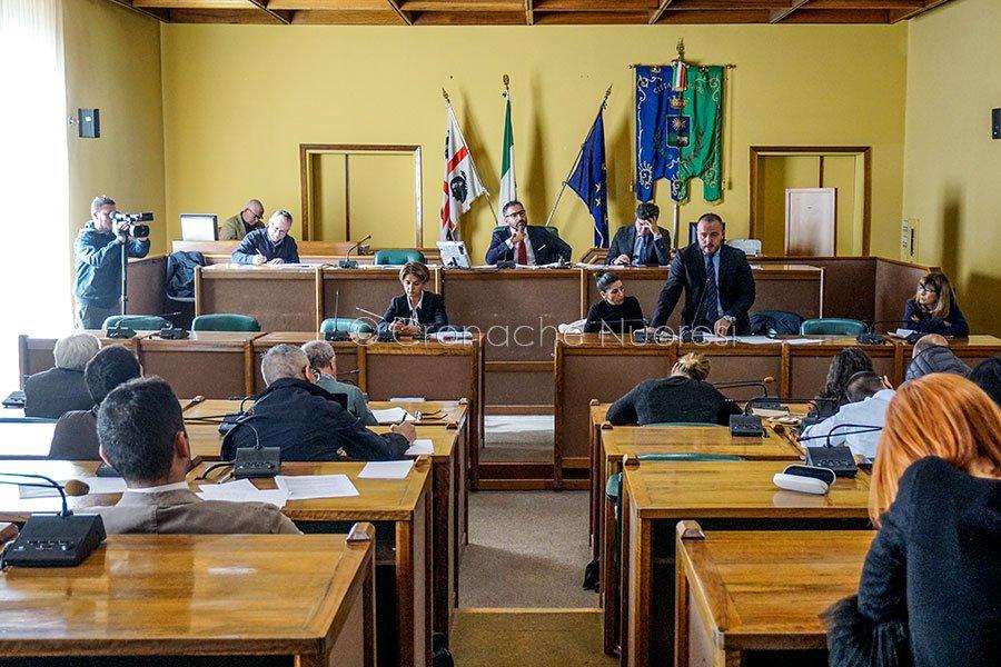 Un momento del Consiglio comunale dedicato alla rinegoziazione dei mutui