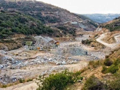 Orgosolo, lavori alla diga di Cumbidanovu (©Cronache Nuoresi)