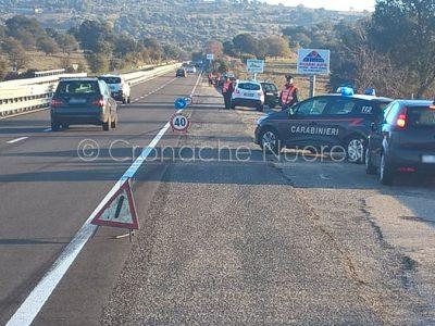 I posti di blocco attivati dai Carabinieri
