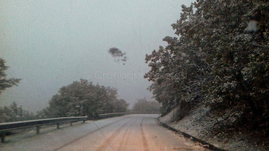 Neve sulla Fonni-Desulo