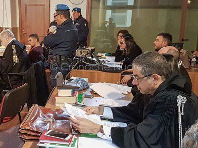 Alberto Cubeddu durante il processo