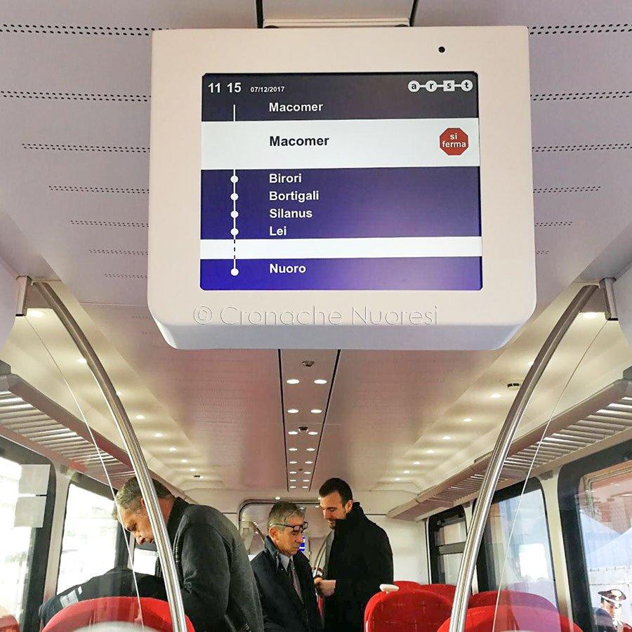 ARST, nuovi treni sulla Nuoro-Macomer