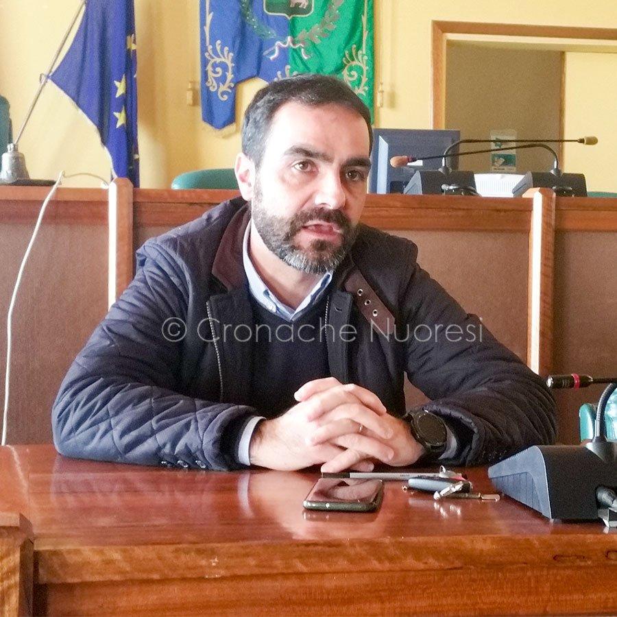 L'assessore all'Ambiente Giuliano Sanna (foto C.Nuoresi)