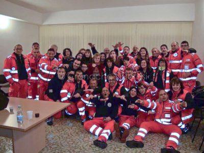 Il personale della Croce Verde di Macomer